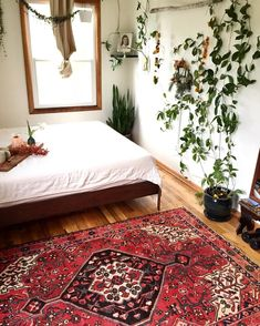 SOLD I just added this gorgeous vintage Persian rug to the shop! AND, I'm including it in the $75 off sale that ends today. Enter the code…