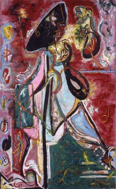 Jackson Pollock, The Moon Woman, 1942
