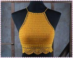 crochet halter top - Google Search More