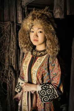 I Travelled 25000 Km In Siberia To Photograph Its Indigenous People, 6 Months Later Here's The Result | Ulchi girl