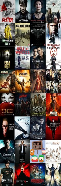 Anyone looking for a new TV series? Recommendations here