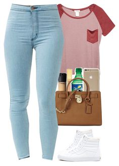 """"""""""" by daisym0nste ❤ liked on Polyvore featuring Wet Seal, AERIN, MAC Cosmetics, Michael Kors, Vans, women's clothing, women's fashion, women, female and woman"""