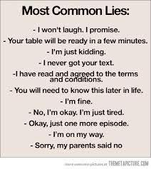 verdade ou mentira?