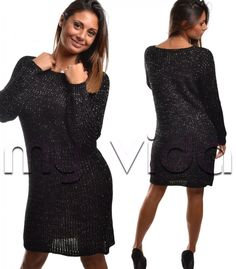 Vestito corto in misto lana manica lunga   My Vida #fashion #fashionista #love #shopping #shoppingonline #me  #followme #style #tagforlike #girl #moda #unique #ootd #stylish #top #sexy #black #nero #clothing #fashionblog #fashiondiaries