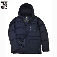 Find More Down Jackets Information about TIGER FORCE 2016 High ...