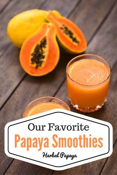 eight scrumptious papaya smoothie recipes! These are our favourite simple papaya smoothies to enhance digestion, increase immunity, and make you're feeling good throughout (together with your style buds! Get the FREE smoothie recipes right Apple Smoothies, Healthy Smoothies, Healthy Drinks, Smoothie Recipes, Healthy Recipes, Freezer Smoothies, Smoothie Packs, Strawberry Smoothie, Green Smoothies