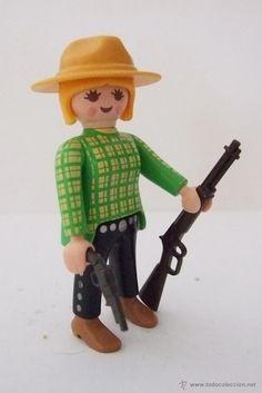Playmobil Ranchera, cowgirl, vaquera, oeste, western