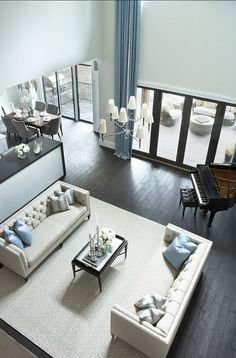 Fabulous Living Room Classic Piano Modern Home with Elegant Interiors