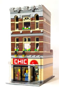 LEGO Ideas - Modular Fashion Shop by matthiasdinter