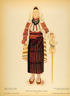 Traditional Art, Traditional Outfits, Folk Costume, Costumes, Ethnic Fashion, Womens Fashion, Simple Cross Stitch, Folk Embroidery, Medieval Clothing