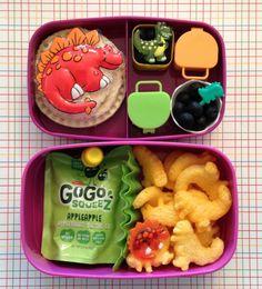 Dinosaur Vegetarian & Peanut-Free Lunch Bento