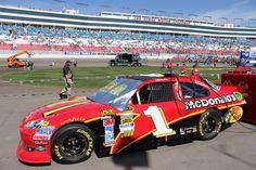 🏁 Jamie McMurray's McDonald's Chevrolet, 2012 Kobalt Tools 400 at Las Vegas Motor Speedway 📸 by Brian Neudorff (CC-BY) #NASCAR