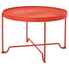 KROKHOLMEN Coffee table, outdoor, orange - IKEA