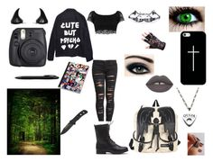 """""""Walk in The Woods Anyone~?"""" by welcometowonderlanddarling ❤ liked on Polyvore featuring art"""