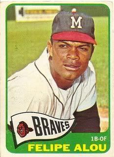 jesus alou baseball card   SF Giants 1959   Ultimate Mogul Baseball League