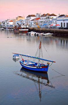 ○ Boat in Tavira, Algarve, Portugal Visit Portugal, Spain And Portugal, Portugal Travel, Faro Portugal, Foto Hdr, Places To Travel, Places To See, Travel Around The World, Around The Worlds