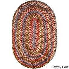 Charisma Indoor/Outdoor Oval Braided Rug by Rhody Rug (8' x 11') - Free Shipping Today - Overstock.com - 17530542 - Mobile