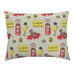 red car-01 on Campine by sissi-tagg   Roostery Home Decor