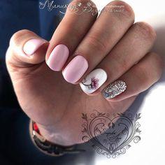 blanco Manicure blanco pink 43 new idea… blanco Manicure blanco pink 43 new ideas Manicure Blanco Pink 43 New Ideas Silver Nails, White Nails, Pink Nails, White Glitter, Perfect Nails, Gorgeous Nails, Pretty Nails, Shellac Nails, Nail Manicure