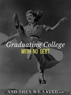 Graduating College w