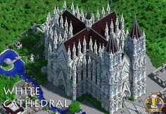 White Cathedral Minecraft World Save