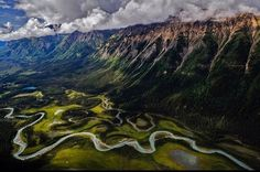 Toad river valley - British Columbia