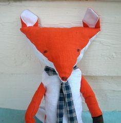 Mr. Fox Plush Pattern @Ellen Page harris
