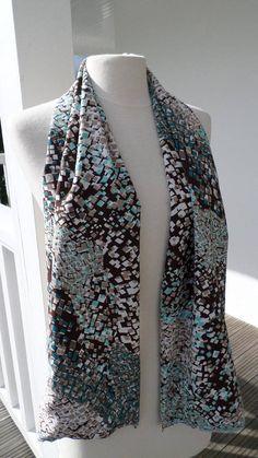 ed00feb8f8d écharpe foulard femme agréable lin eva noir et blanc