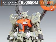 GUNDAM GUY: 1/144 RX-78 GP00 Blossom Test Type - Scratch Build