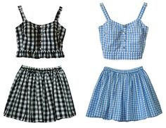 Cherry Gingham Set sold by MILK CLUB. Shop more products from MILK CLUB on Storenvy, the home of independent small businesses all over the world. Lolita 1997, Kawaii Fashion, Lolita Fashion, Summer Outfits, Girl Outfits, Fashion Outfits, Summer Dresses, Pretty Outfits, Cute Outfits