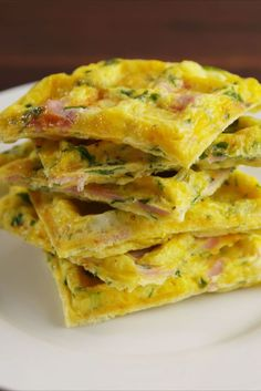 Omelet Waffles  - Delish.com