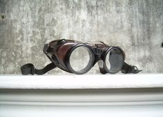 Vintage Wilson Safety Goggles by TheArtifactoryStudio on Etsy