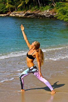 Leggings, Pants, Sport Hosen Frauen und Damen für Yoga, Laufen, Wohlfühlen und Enspannung. Für Übungen, Anleitungen und Stellungen.