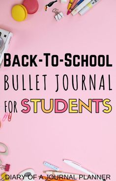 Stay on top of all your school work this year with a bullet journal for students! Why you need one and the spreads and pages you must include. #bulletjournalforstudents #bujo #bulletjournal #backtoschool #bulletjournalschool #bulletjournalforbeginners Bullet Journal For Beginners, Bullet Journal Key, Bullet Journal Tracker, Bullet Journal School, Bullet Journal Printables, Bullet Journal How To Start A, Bullet Journal Spread, Bujo Key, Student Diary