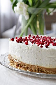 Just Eat It, Piece Of Cakes, Something Sweet, Toffee, Yummy Cakes, Vanilla Cake, Food Inspiration, Sweet Treats, Cheesecake
