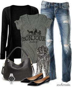 """Bonjour"" by archimedes16 on Polyvore"