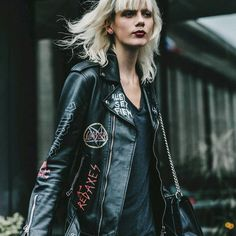 Punk N Goth Motor Jacket.