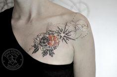 #peonytattoo #pivoine #rosedesvents #marieroura #epureatelier #finelines #tattooartist #tattoo #peony