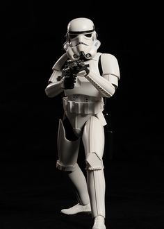 The Imperial Stormtroopers are soldiers from George Lucas' Star Wars universe. The Stormtrooper Corps serves as the main ground-force and Marine component of the military of the Galactic Empire, under the leadership of the Sith Lord and Emperor Palpatine and his commanders, most notably Darth Vader and Grand Moff Tarkin.