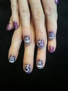 marathon nails - Google Search