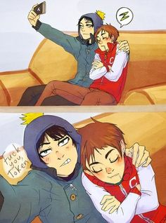 South Park - Clyde Donovan x Craig Tucker - Cryde (M:I don't ship them, but they are cute though)
