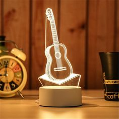 LED Lamp Creative LED Night Lights Novelty Illusion Night Lamp Illusion Table Lamp For Home Decorative Novelty Lamps, Novelty Lighting, Lampe 3d, Desktop Lamp, Star Night Light, Light Board, Night Lamps, Night Lights, Bedside Lamp