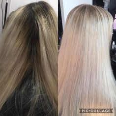 Loads of foils for Emily colour wear to tone Ice Blonde, Shaving, Ash, Colour, Long Hair Styles, Beauty, Gray, Color, Icy Blonde
