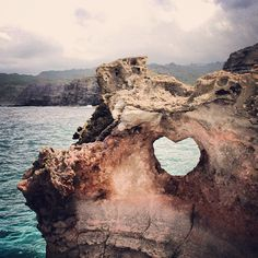 Heart Rock...a 10 minute hike north of Ka'anapali. Hmmm...