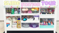 SLIME STATION TOUR - YouTube