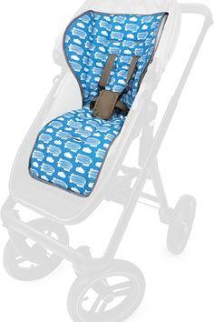 PRIEBES FRITZ Sitzauflage zweiteilig f/ür Autositz Gruppe 2-3 Schonbezug Kindersitz 100/% Baumwolle waschbar Sitzeinlage zum Wenden f/ür Sommer und Winter Design:elefanten grau