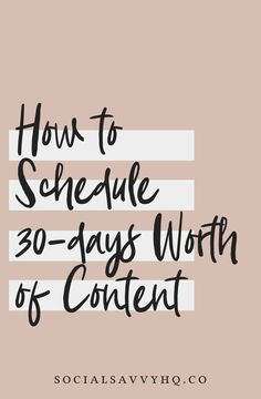 Social media infographic and charts How to Schedule 30 Days Worth of Content Infographic Description Have you ever been in a creative rut where you sit E-mail Marketing, Content Marketing Strategy, Social Media Marketing, Online Marketing, Mobile Marketing, Marketing Ideas, Business Marketing, Social Networks, Social Media Content