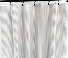 Grey & White  Panel Curtain. Grey  Classic Stripe  Curtain.  2 panel curtain. Window Treatment. Curtain.cotton.unlined.Choose  your sizes.cm by TwistedBobbinDesigns on Etsy