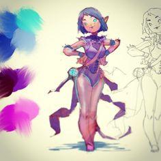 Sketches, by Ahmed Aldoori.