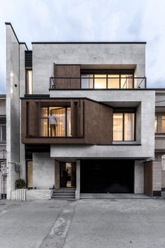 I The Best Interior & Exterior Design Experiences For YOU. Design Exterior, Facade Design, Interior Exterior, House Architecture Styles, Modern Architecture, Pavilion Architecture, Sustainable Architecture, Residential Architecture, House Front Design